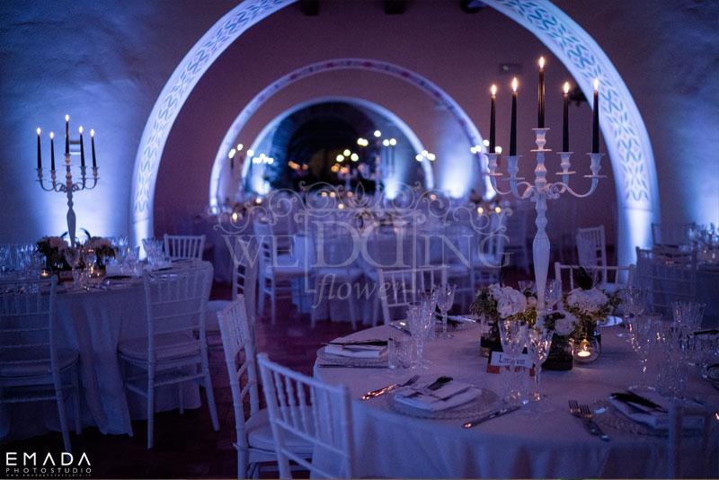 sala ricevimento matrimonio castello