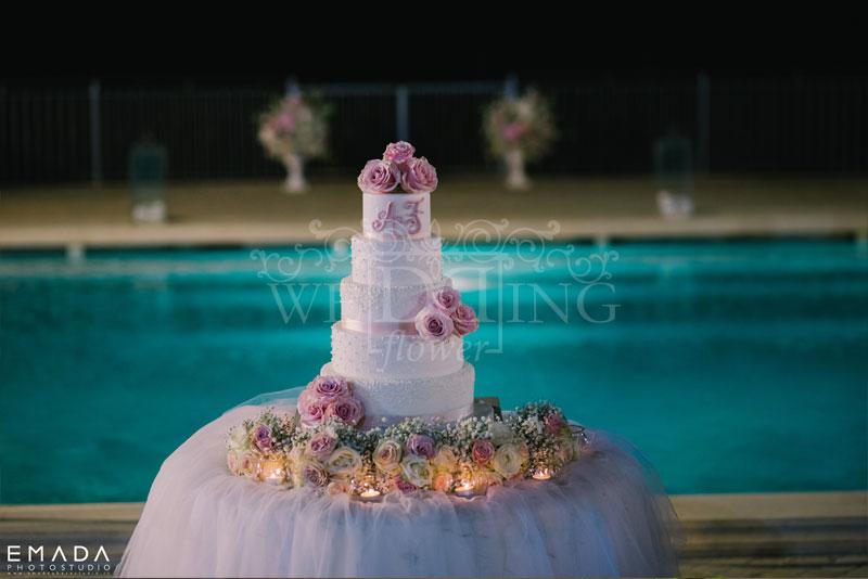 wedding cake casina poggio della rota